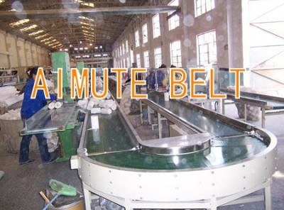 Electronics factory assembly line conveyor table